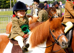 Young Equifest Competitor & Her Pony